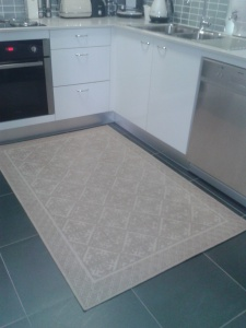 Kitchen rug decor